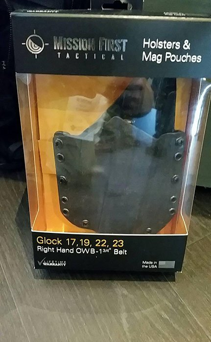 Mission First Tactical Glock Holster