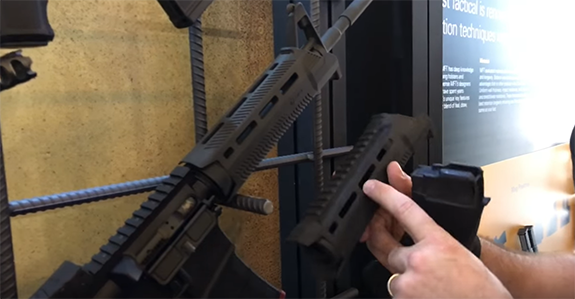 mft hand guards for fixed front sight
