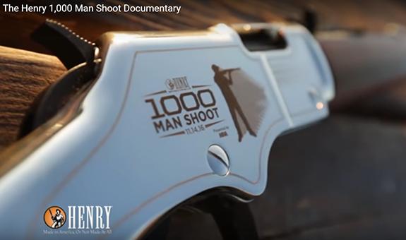 Henry 1,000 man shoot