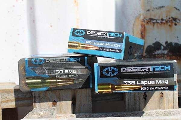 Desert Tech Ammo