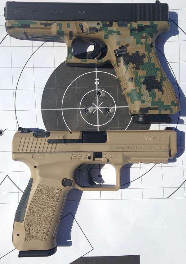Canik TP9 Vs Glock 17