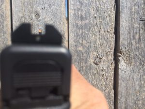 intuitive front sight