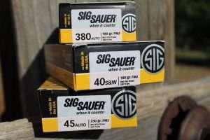 SIG training ammo