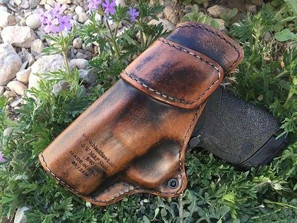 blackhawk premium leather holster