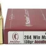264 Winchester Magnum Ballistics