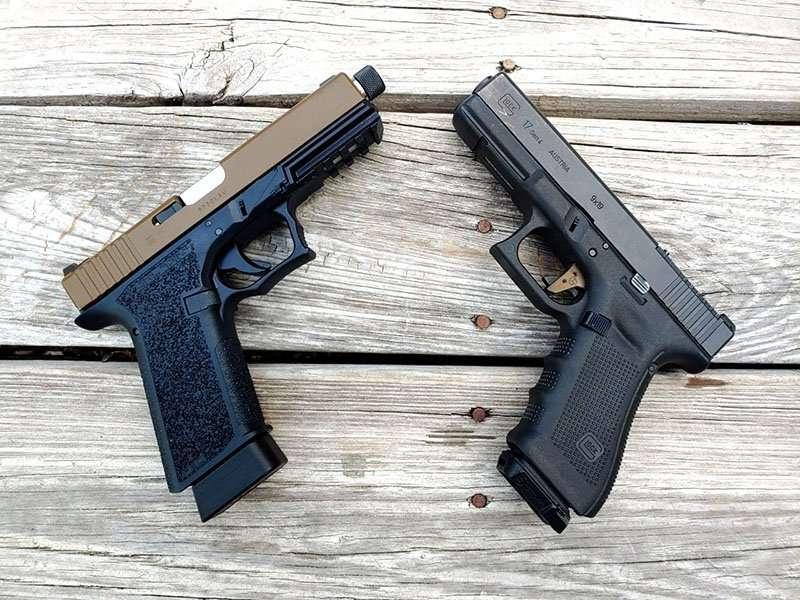 polymer 80 vs glock 17
